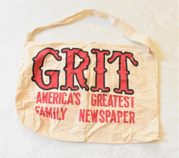 Vintage Grit America's Greatest Family Newspaper P
