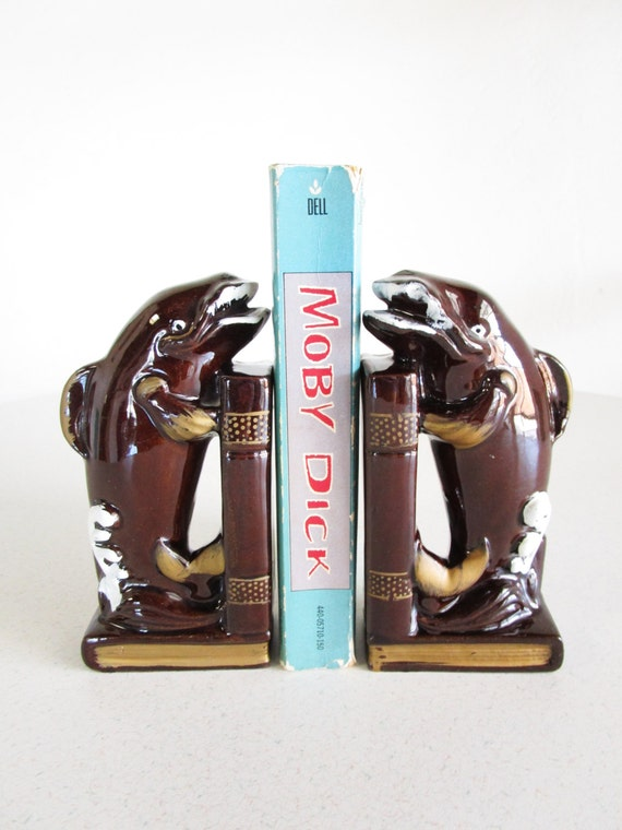 Moby dick bookends