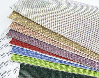 Glass Rhinestones Sheet Self Adhesive Applique   Sticker Sheet 2mm ( SS8 )    15 colors to choose from f1b28426d040
