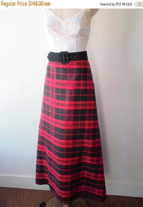 Save Now 50% Off Savings Plaid Skirt Plaid Dress S