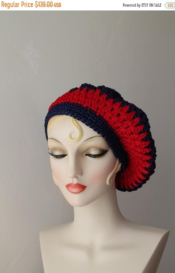SAVE NOW 50% Off Beret Hats for Women Crochet Bere