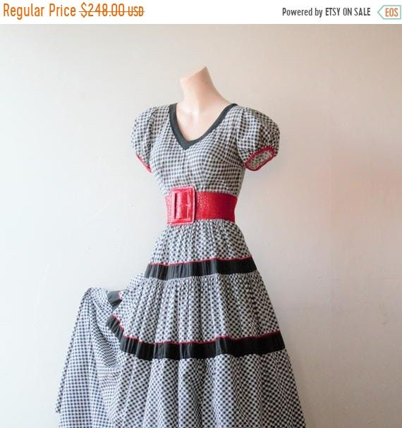 Sexy Savings 50% off NOW Praire Dress Gingham Dres