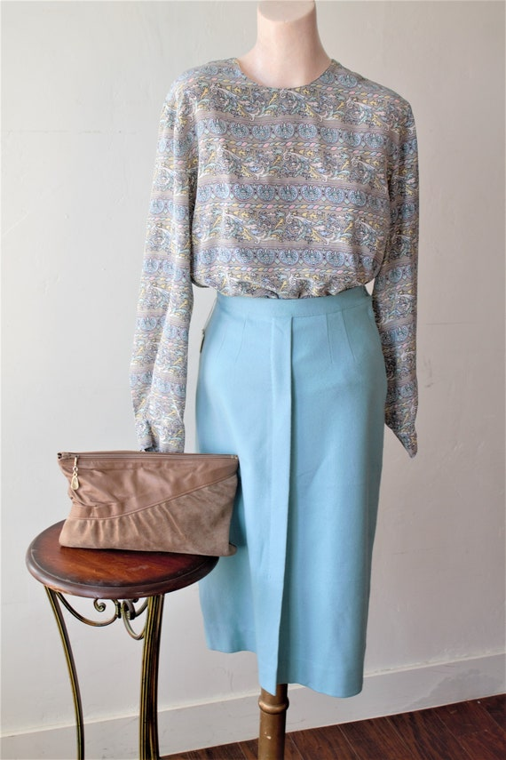 50% Savings Now Baroque Shirt Design Silk Satin B… - image 4