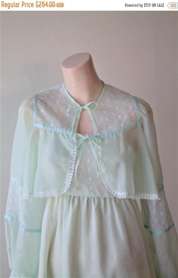 50% Savings Now Prairie Dress Lolita Dress 70s Chi