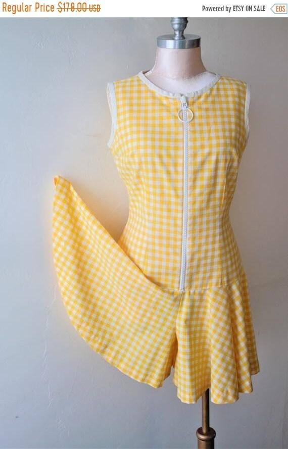 50% Savings Now Romper Women Gingham Dress Swimsui