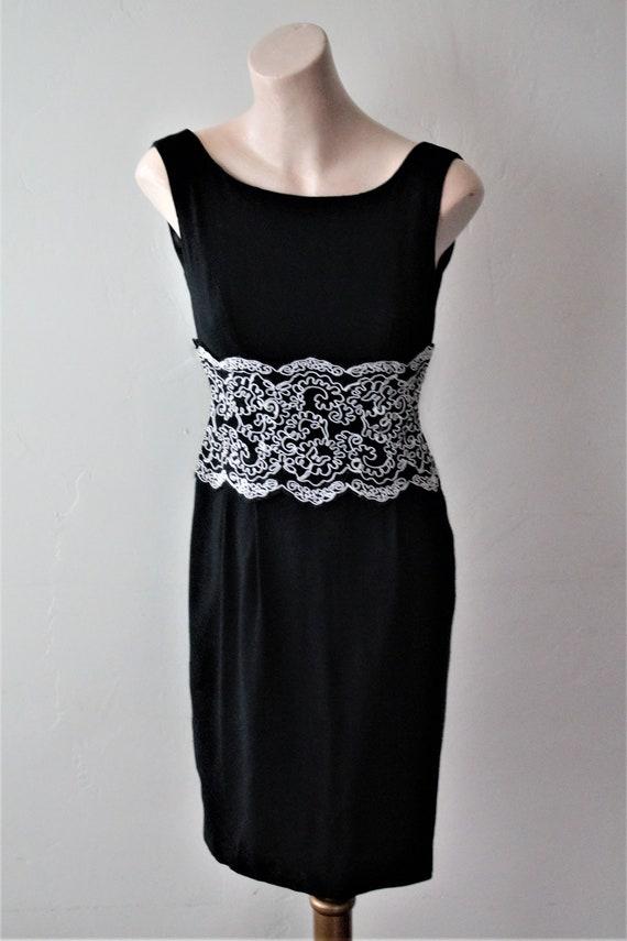 SAVE 50% NOW Audrey Hepburn Dress Bridal Lace Top… - image 5