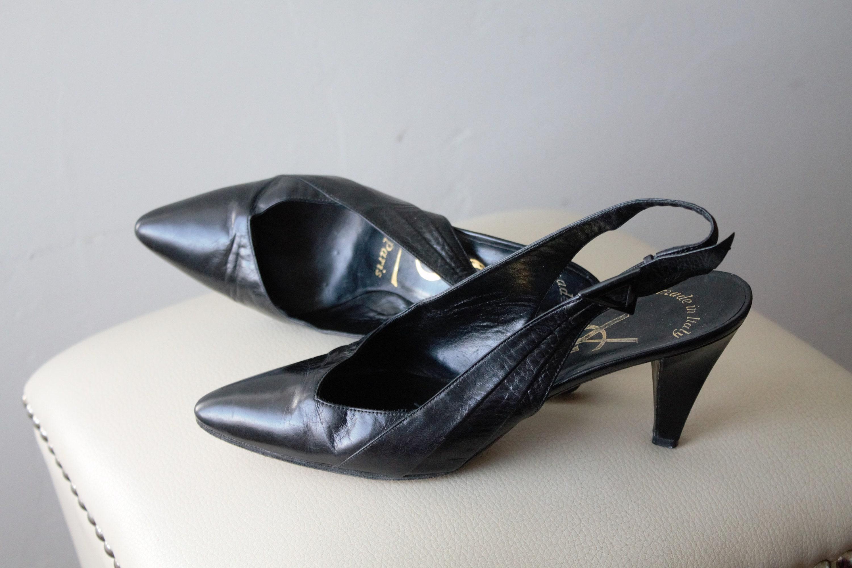 vintage ysl shoes