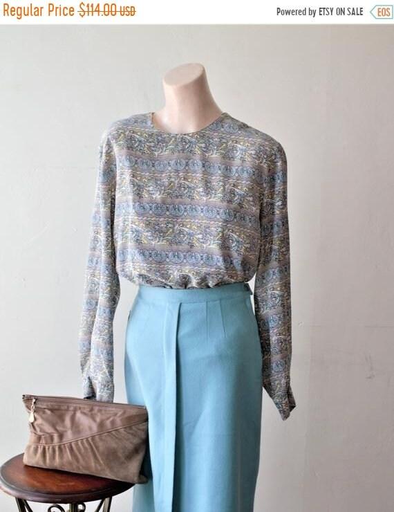50% Savings Now Baroque Shirt Design Silk Satin B… - image 1