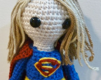 Supergirl, An amigurumi fan art doll inspired by Supergirl
