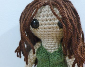 RIVER TAM. a doll inspired by River Tam from Firefly/Serenity