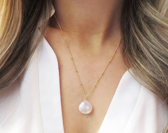 Milky Quartz Necklace