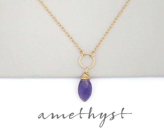Small Amethyst Pendant