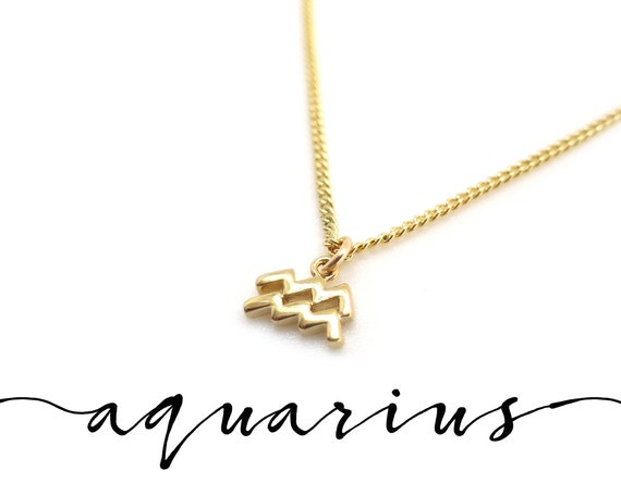 Dainty Aquarius Necklace