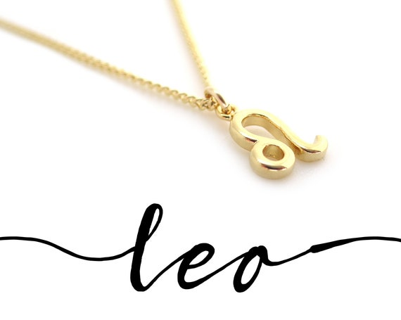 Gold Leo Necklace