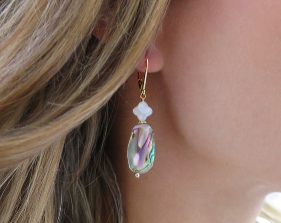Abalone & Mother of Pearl Earrings