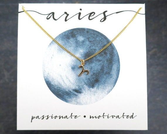 Dainty Aries Necklace