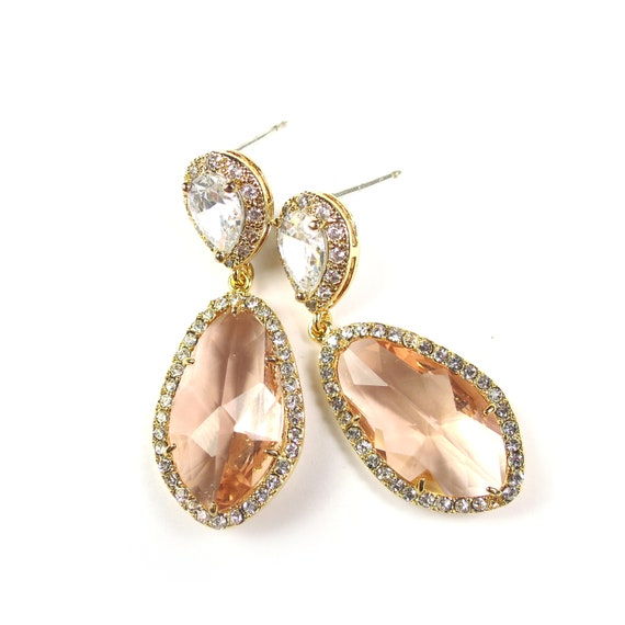 Crystal CZ Earrings