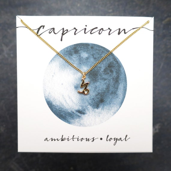 Dainty Capricorn Necklace