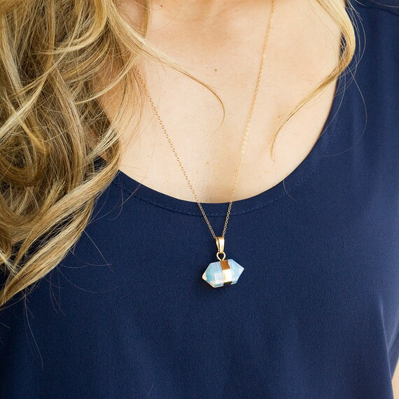 Double Point Opalite Necklace