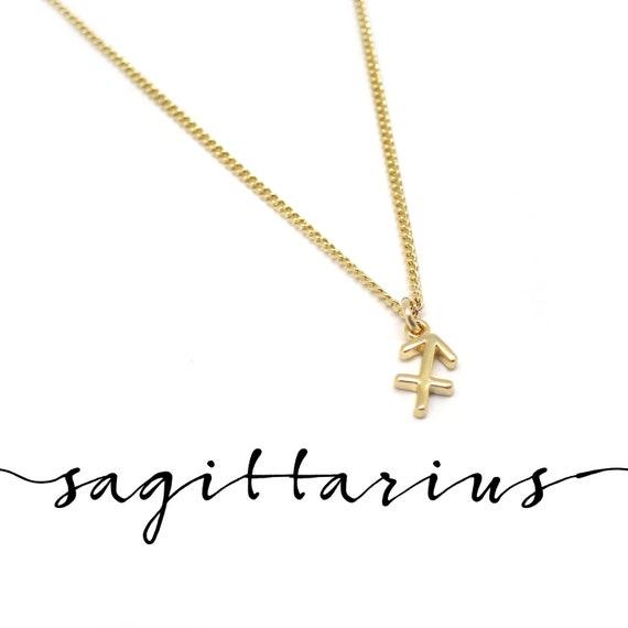 Dainty Sagittarius Necklace