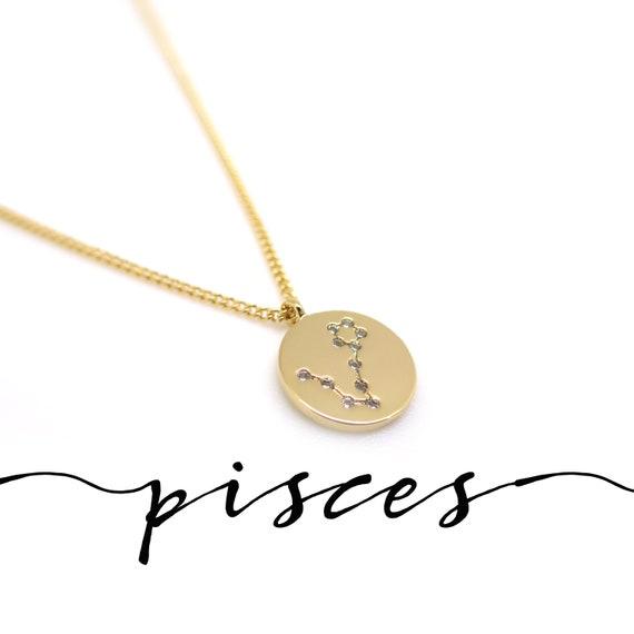 Pisces Constellation Necklace