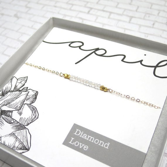 April Bar Necklace