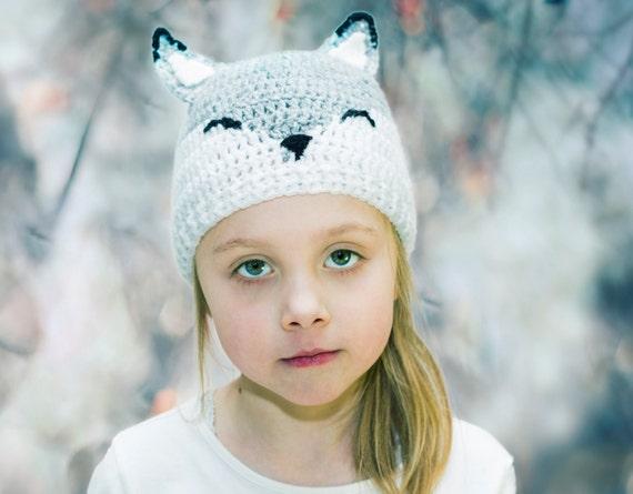 Babymütze Häkeln Fuchs Fuchshut Wolle Baby Mütze Etsy