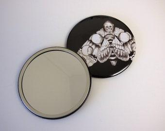 Death Head Hawkmoth Pocket Mirror