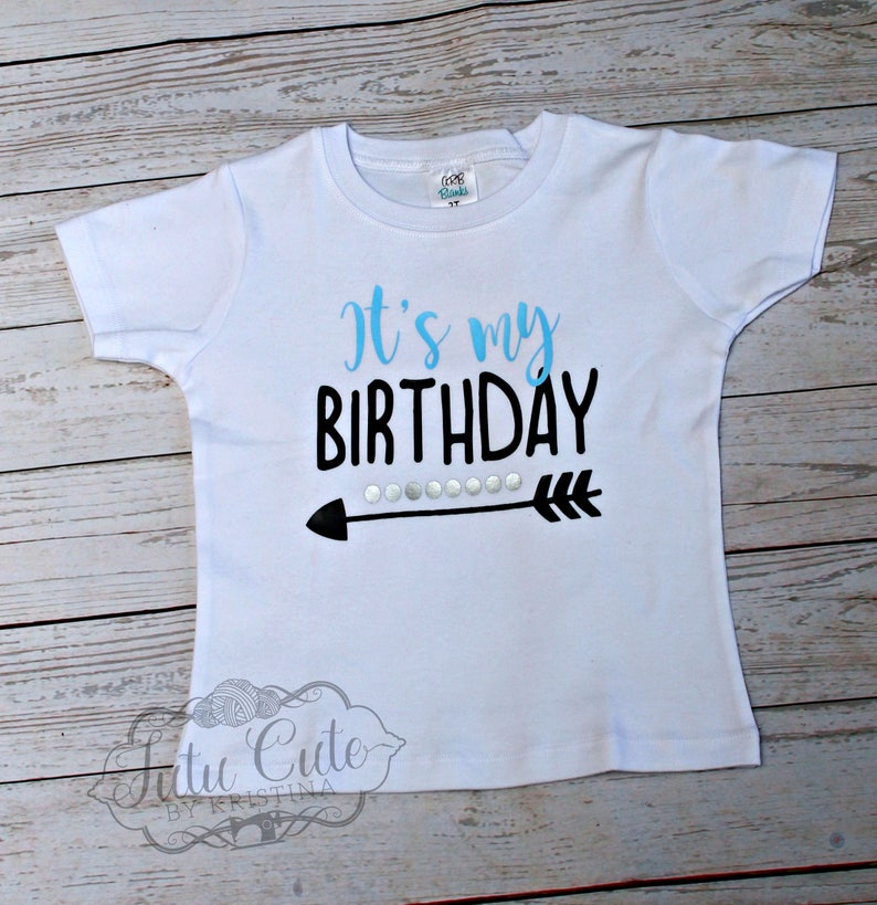 Kids Custom Birthday Shirt Its My Twins Sizes