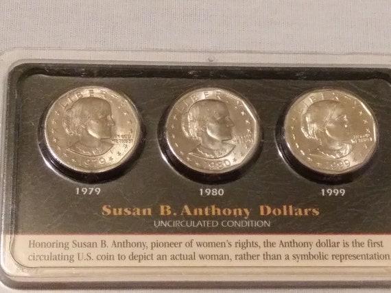1999-P BU Proof Susan B Anthony US Mint Boxed