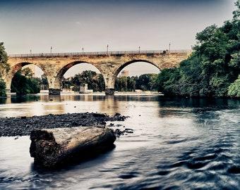 Stone Arch Calm - Minneapolis, MN - Minneapolis Photography