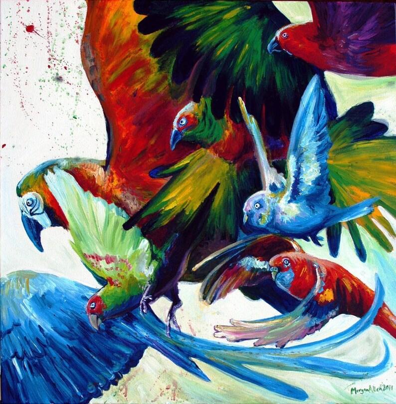 Customized Art Acrylic Painting Commission image 0