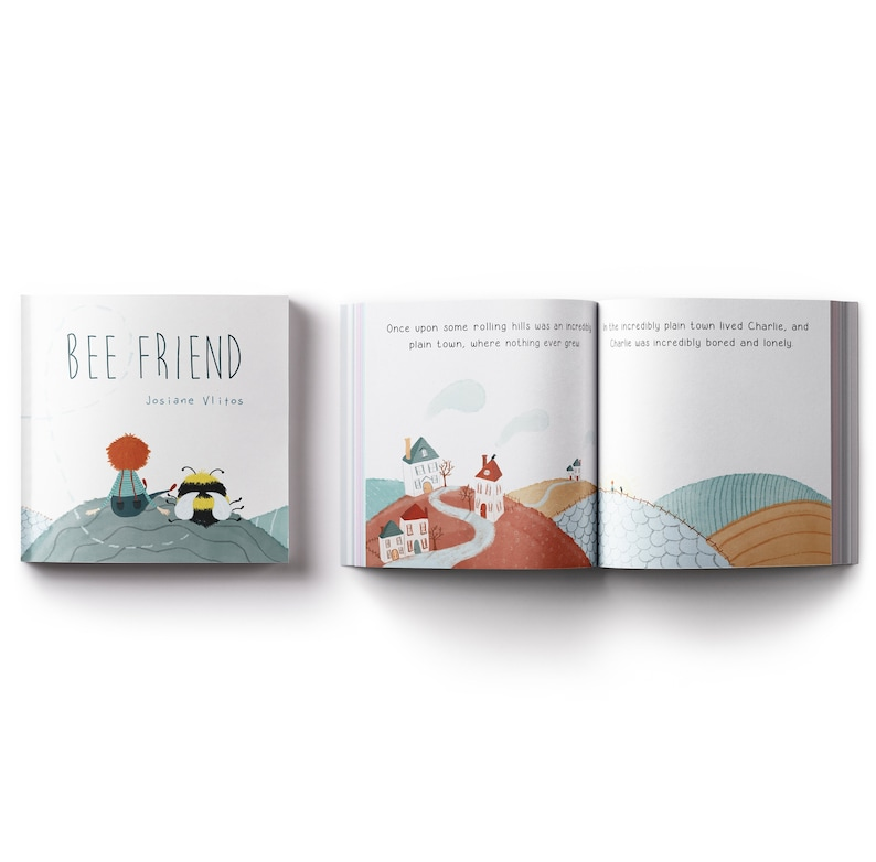 Bee Friend  A picture book about how to befriend a bee image 0