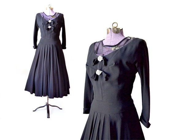 Womens Dress Clothing Black Dress Dress Dress XS Party Vintage 1950s Vintage Vintage Dress 50s Dress Dress Cocktail Clothing aHxqp6qwn