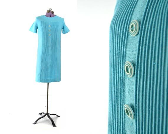 Dress Dress Small 1960s blue Linen XS Dress vintage 60s Dress Womens Extra 60s 1960s dress Vintage dress Dress Dress qPfHgrPOy5