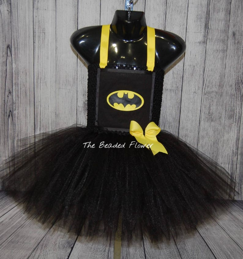 7799e5971 Batman inspired tutu dress batman robin halloween tutu dress