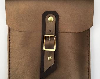 Bronze leather Kindle case