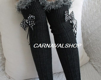 2a5603efaff30 Unique Gifts for Woman Personalized Gift for Women Legwarmers Knit Socks  Winter Accessories Gift for Her Women's Fashion