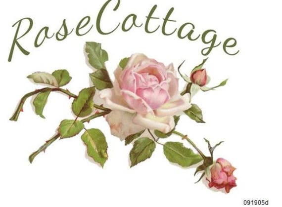 VinTaGe IMaGe LiLaCs /& RoSeS SHaBbY WaTerSLiDe DeCALs TRaNsFeRs *FuRNiTuRe SiZe*