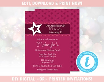 American Girl Follow Your Inner Star Stacked Stickers New