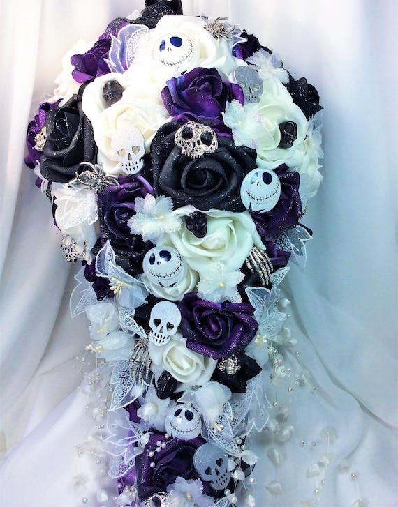 Disney Wedding Bridal Bouquet Nightmare Before Christmas Etsy