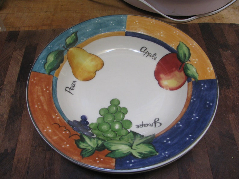 International Tableworks  Harvest theme  Soup Bowls image 1