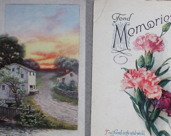 Antique Friendship Postcards
