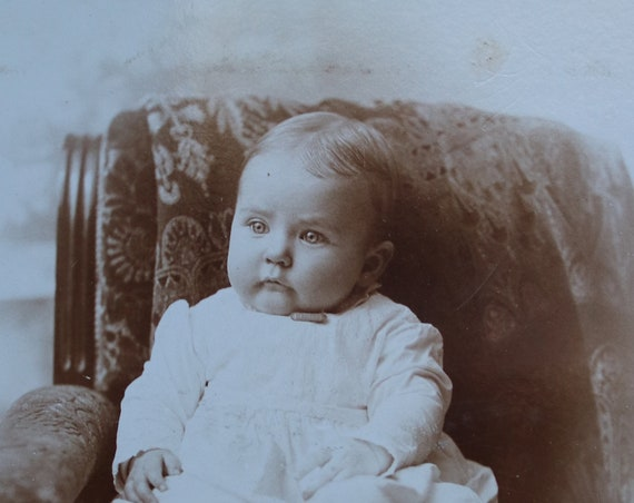 Cabinet Card of Baby