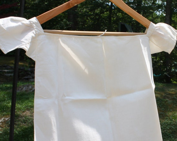 Toddler's or Child's Circa 1800s, Antique, Linen Undershirt