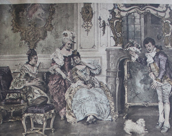 Antique Lithographs by Williamsburg Art Company