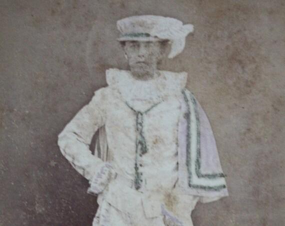Leiden University Masquerade Parade Participant, Photographed by de Lavieter & Co of La Haye (The Hague), Carte-de-Visite, Circa 1870s,
