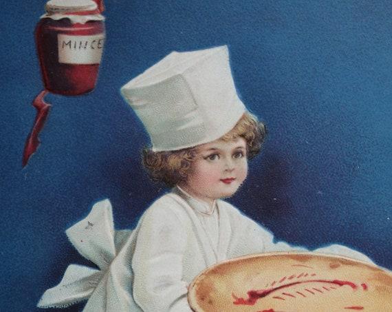 Ellen Clapsaddle Antique Thanksgiving Postcard
