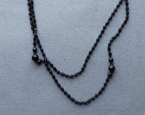 French, Antique Sautoir Necklace/Watch Chain with Dog Clip