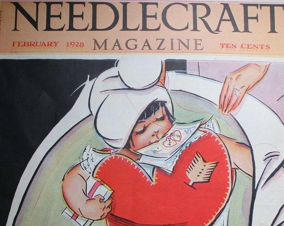 February 1928 Needlecraft Magazine